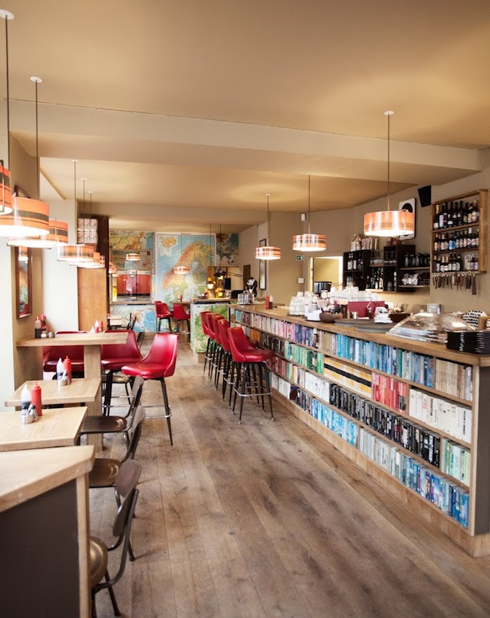 Laundromat Cafe Reykjavik