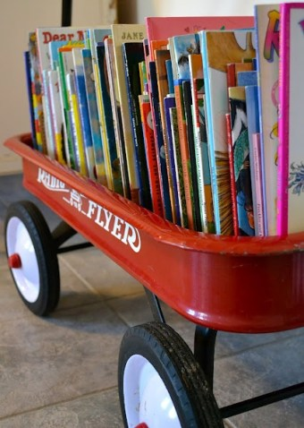 MrFox-radio-flyer-wagon-library