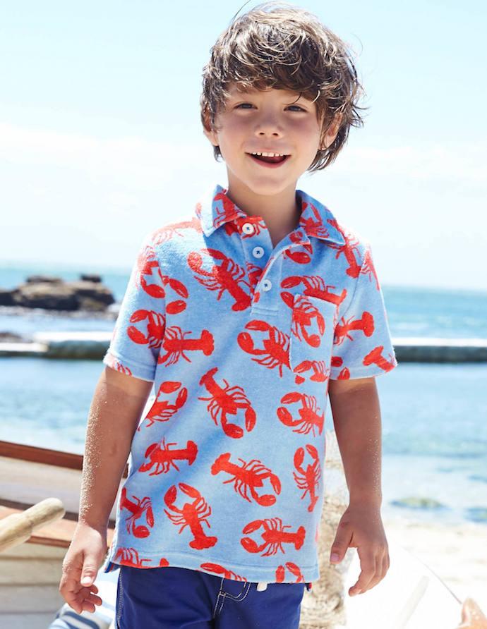 Boden Lobster Shirt