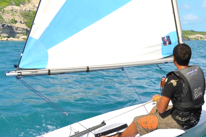 Nonsuch Bay Sailing Lessons