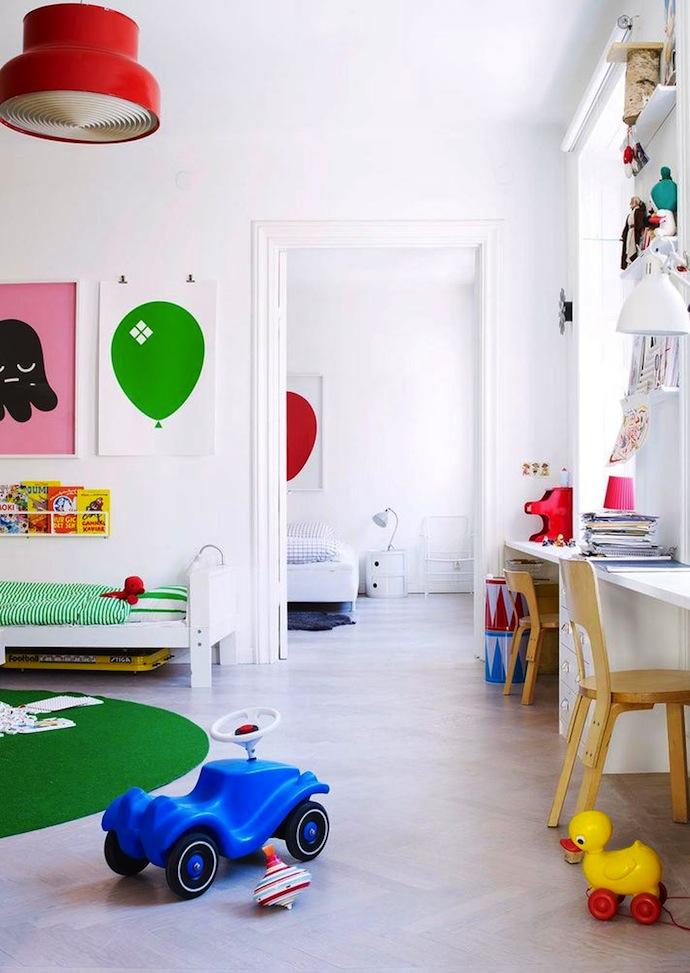 Scandi Kids Room