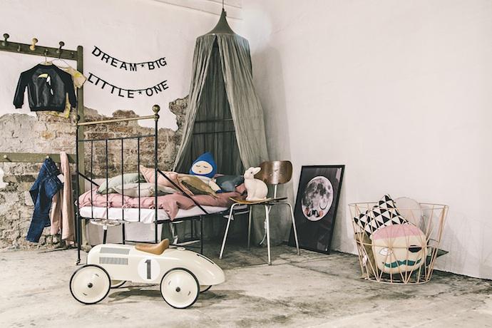 Fairytale kids rooms