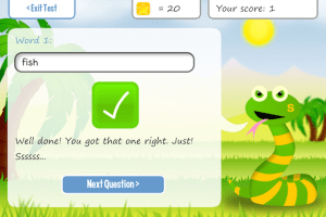Squeebles Spelling App for Kids