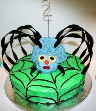 AWW Spider Birthday Cake