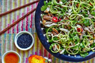 Hemsley Sesame Chicken Noodle Salad