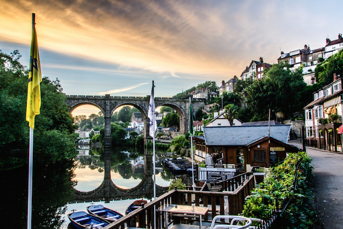 Knaresborough Yorkshire with kids