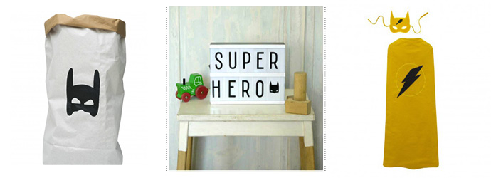 Get The Look superhero