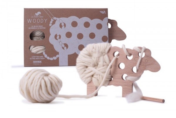 Woody Sheep craft project