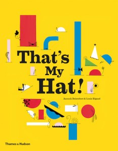 That's My Hat pop up book