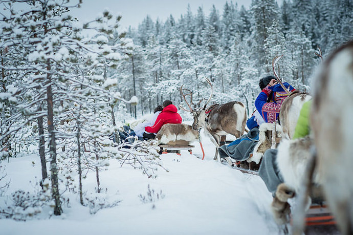 Yllas in Finnish Lapland