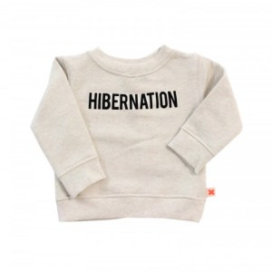 Cool Slogan T-Shirts for Kids: Tiny Cottons Hibernation Jumper