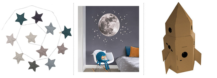 Get The Look: Space Themed Rooms