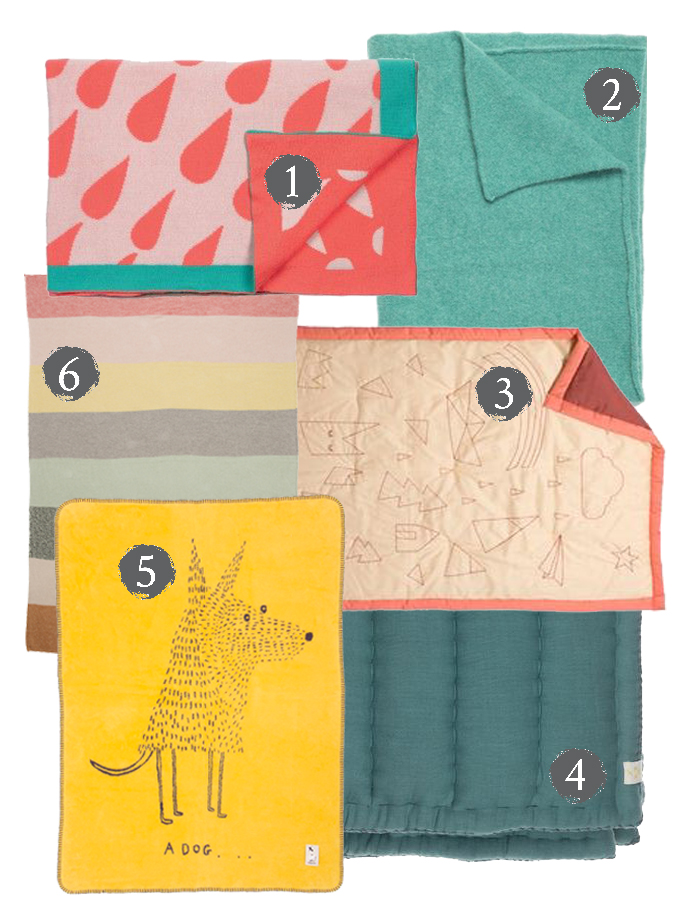 Blankets and Throws for Kids Rooms