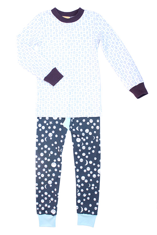 The Bright Company Polka Moon Pjs