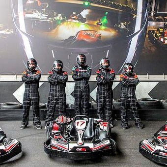 Into The Blue Go Karting Experience for Kids