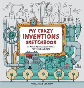 Best Gifts for 8 Year Olds Crazy Invention Sketchbook