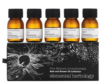 Elemental Herbology Bath & Shower Oil Collection