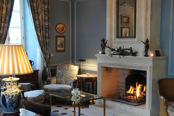 Hotel de Toiras bedroom