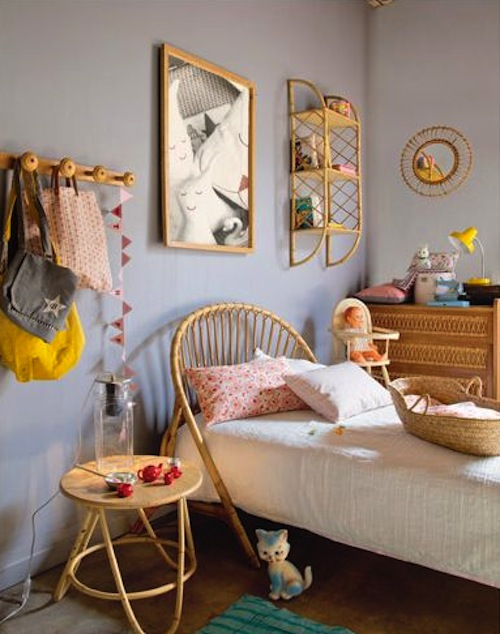 Twiggy Lou blog vintage Kids room