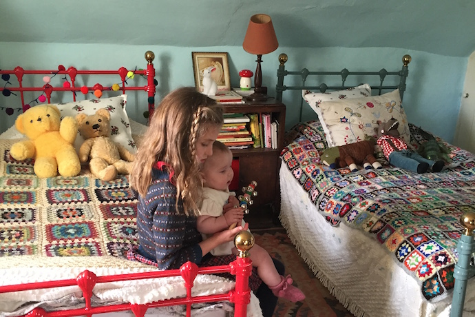 Ellie London owner's Vintage Kids Room