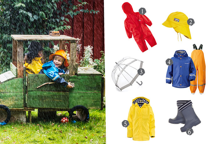 Wet Weather Gear for Kids