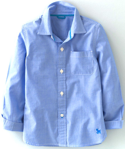Mini Boden Laundered Shirt