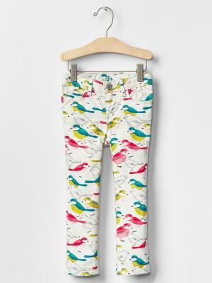 Gap Girls Bird Print Skinny Jeans (deleted 950e6ff5ad3878f0c904341dd4a1f261)