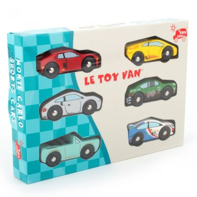 Le Toy Van wooden cars