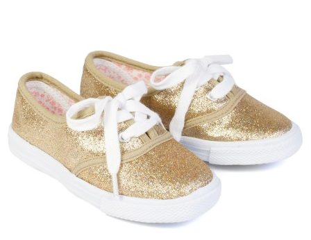 wildgorgeous-girls-sparkly-plimsols-gold