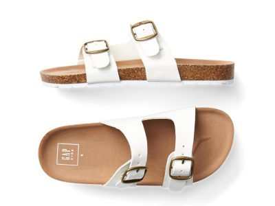 Gap White Surf Sandals