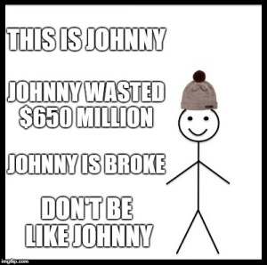 I'm Financially Independent. Johnny Depp Is Not. How Did This Happen?