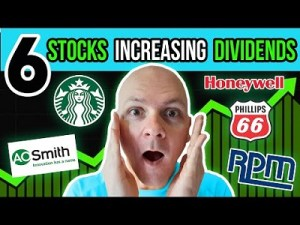 These 6 Stocks Just Announced Dividend Increases
