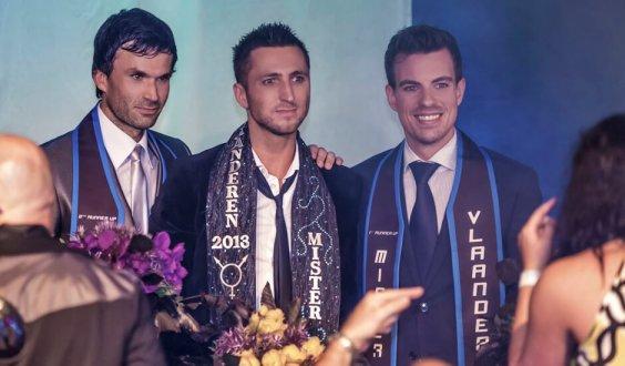 David Joëts (3rd place), Tom Goris (winner) and David Dedeene (2nd place)