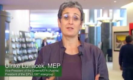 Politics: A message from Ulrike Lunacek