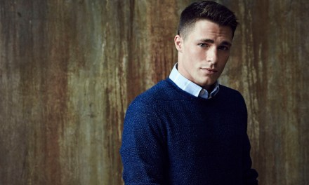 """Arrow"" star Colton Haynes comes out"
