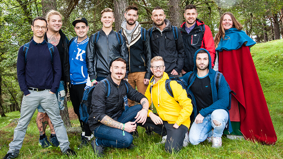 Oppdal Welcomes Mr Gay Europe