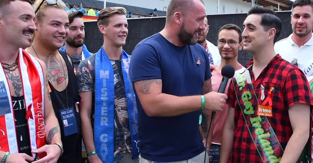 Watch for free: The Mr Gay Europe documentary
