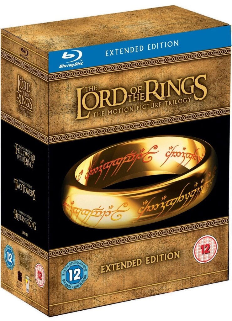 The Lord of the Rings The Motion Picture Trilogy (Extended Edition) | The Top Six Movies In My Film Collection