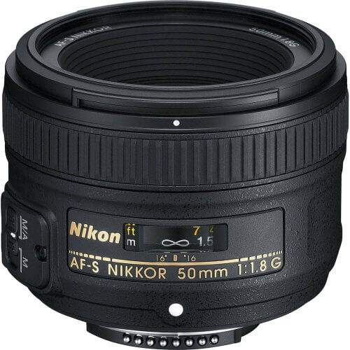 Nikon_AF_S_Nikkor_50mm_f_1_8G - Choosing the Right Lens For Your DSLR