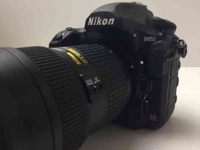 The Nikon D850 Unboxing and Review - With Lens attached