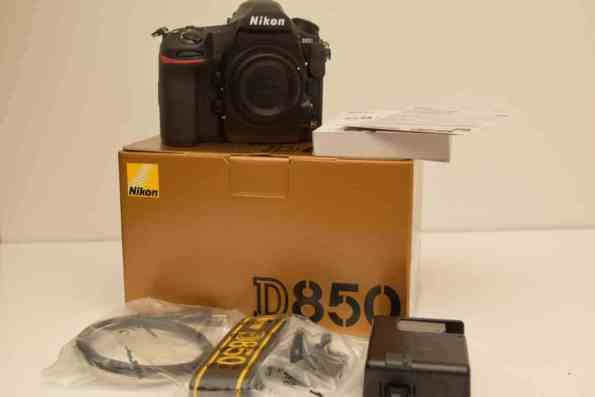 The Nikon D850 Unboxing and Review - Box Contents