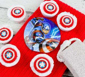 Avengers Bath Bombs Activity cover