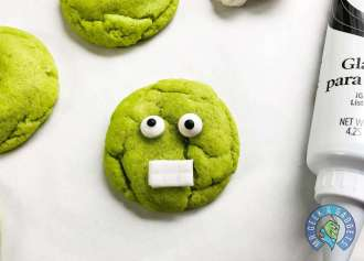 Avengers Hulk Cookie Recipe