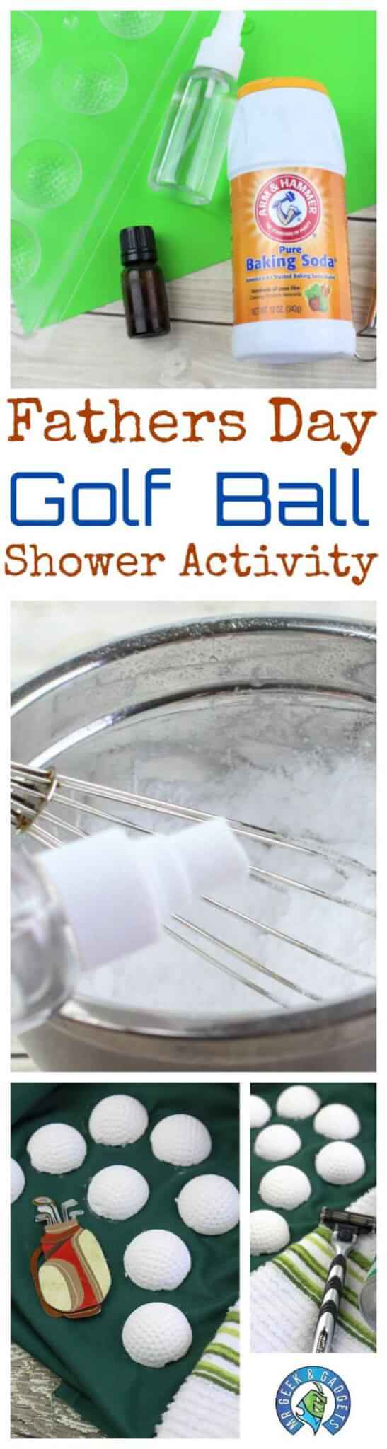 fathers-day-golf-ball-shower-activity | Fathers DayGolf Ball Shower Activity