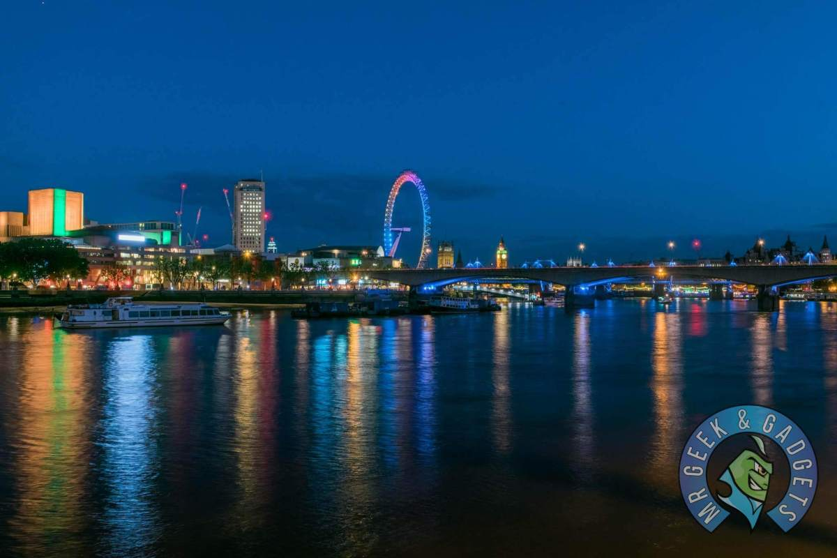 Thames Long Exposure Photos