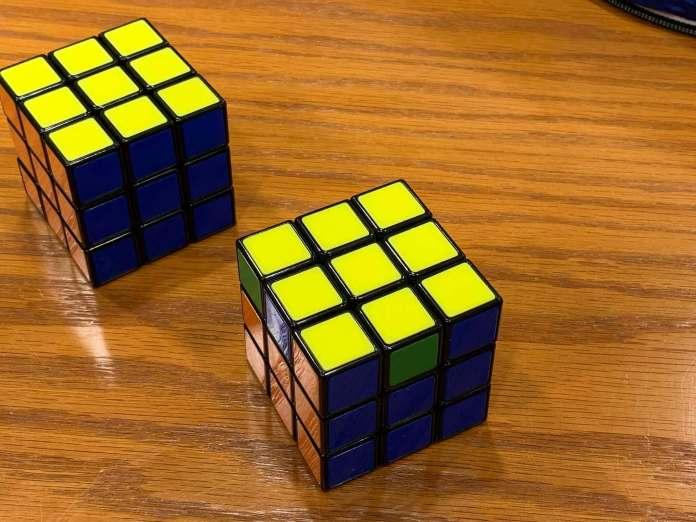 How to Solve a Rubiks Cube | Yellow-Side-completed
