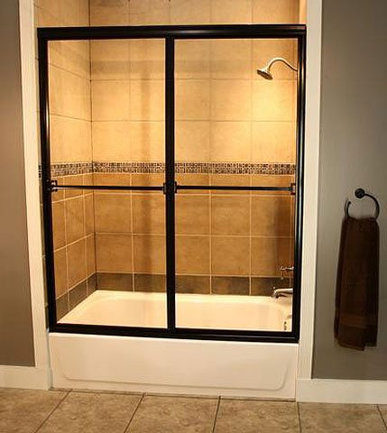 bathroom glass replacement