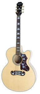 Epiphone EJ-200SCE Solid Top Cutaway Acoustic-Electric Guitar