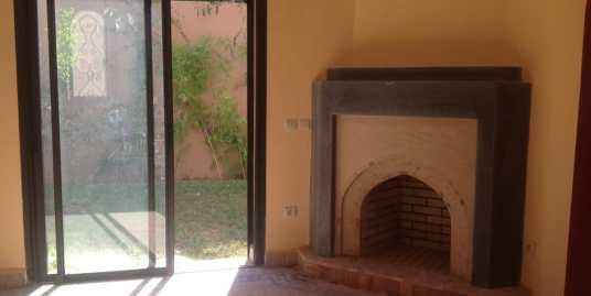 location villa non meublée à targa marrakech pour longue durée