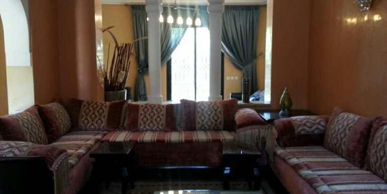 location de villa meublé standing à targa marrakech5